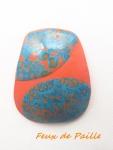 pendentif rétro orange et bleu.JPG